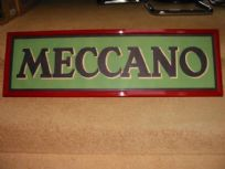 Meccano Advertising Sign